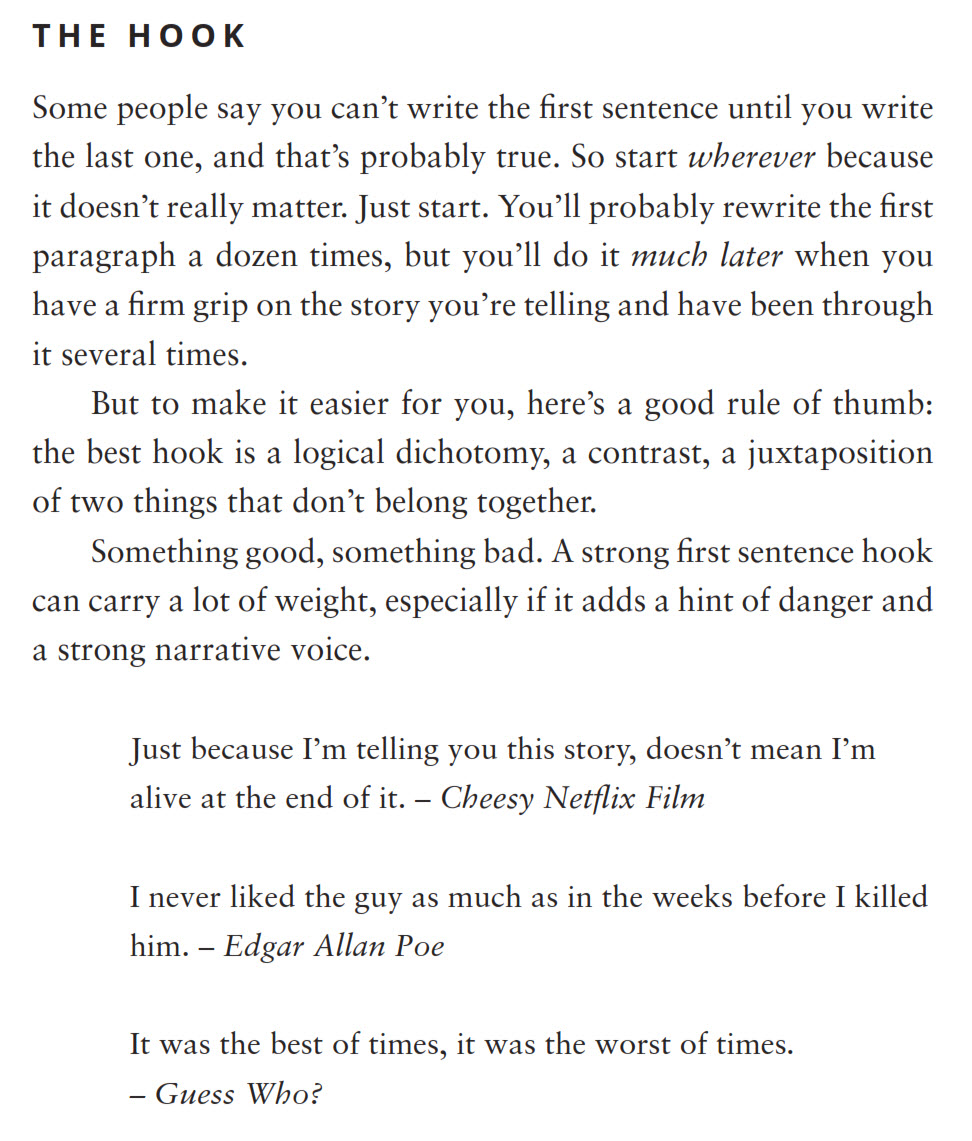 writing tips and quotes